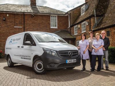 c1dbdc3be1 Mercedes-Benz Vans lends its support