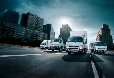 FUSO Canter Light Duty Truck Range