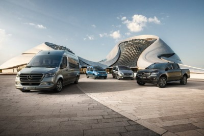 Mercedes Benz Commercial Vehicle Range3