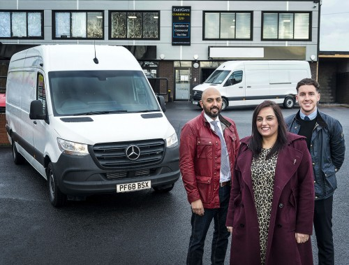 Van thieves thwarted by Mercedes PRO connect