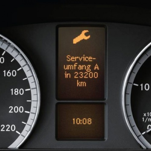 How do I know when my vehicle needs a service?