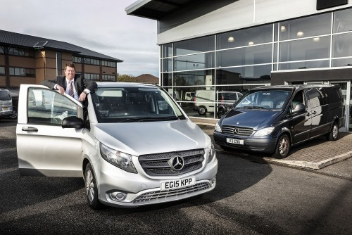 Mercedes-Benz Vito's a million mile-eater for Revidge & Wilpshire