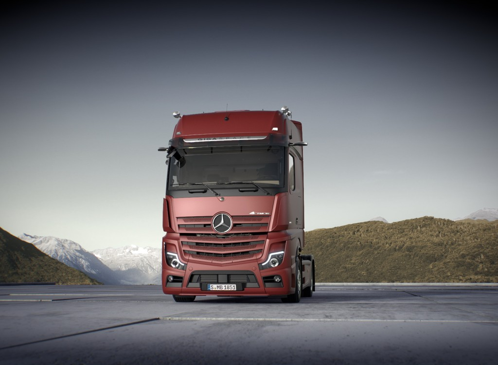 869084c119 A truck ahead of its time. The new Actros meets the continually growing  demands in long-distance and heavy-duty distribution haulage more  effectively than ...