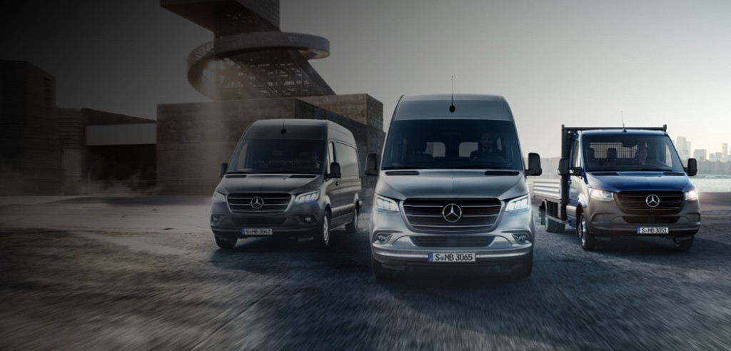 Better. Connected. The new Mercedes-Benz Sprinter.