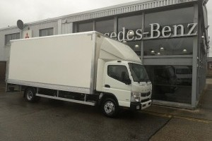 Fuso Canter 7.5t Box with Tail Lift
