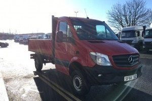 Sprinter 316 CDI MWB 4x4 Tipper