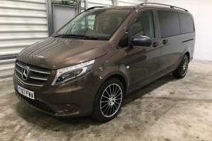 Vito 119 BLUETEC TOURER SELECT LONG with Bunk Pack